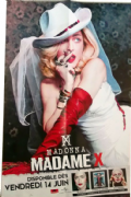 MADAME X ALBUM -  FRANCE IN-STORE PROMO POSTER